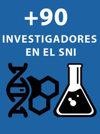 Investigadores en el Sistema Nacional de Investigadores
